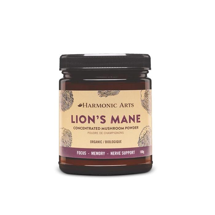 Lion's Mane Concentrated Mushroom Powder 45g