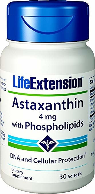 Astaxanthin with Phospholipids - 30 softgels