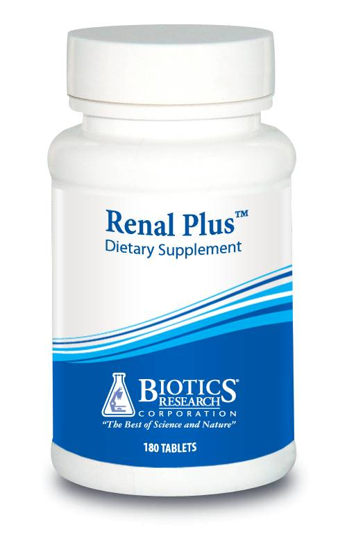 Renal Plus (Kidney Support wGlands) 180 tab