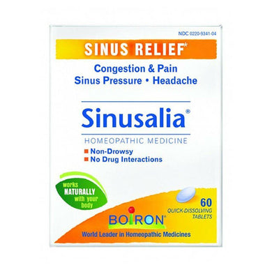 SINUSALIA sinus congestion 60 tabs***