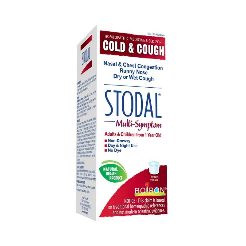 STODAL cough & cold multi-system 200ml syrup