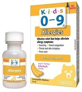 Kids 0-9 All Allergies Optimum Relief 25 ml