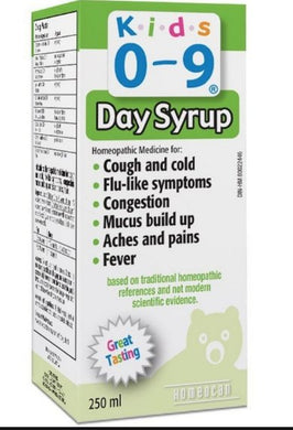 Kids 0-9 Cough & Cold Syrup 250ml