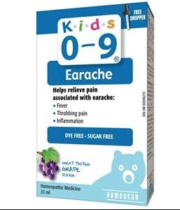 Kids 0-9 Earache 25 ml