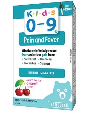 Kids 0-9 Pain and Fever 25 ml