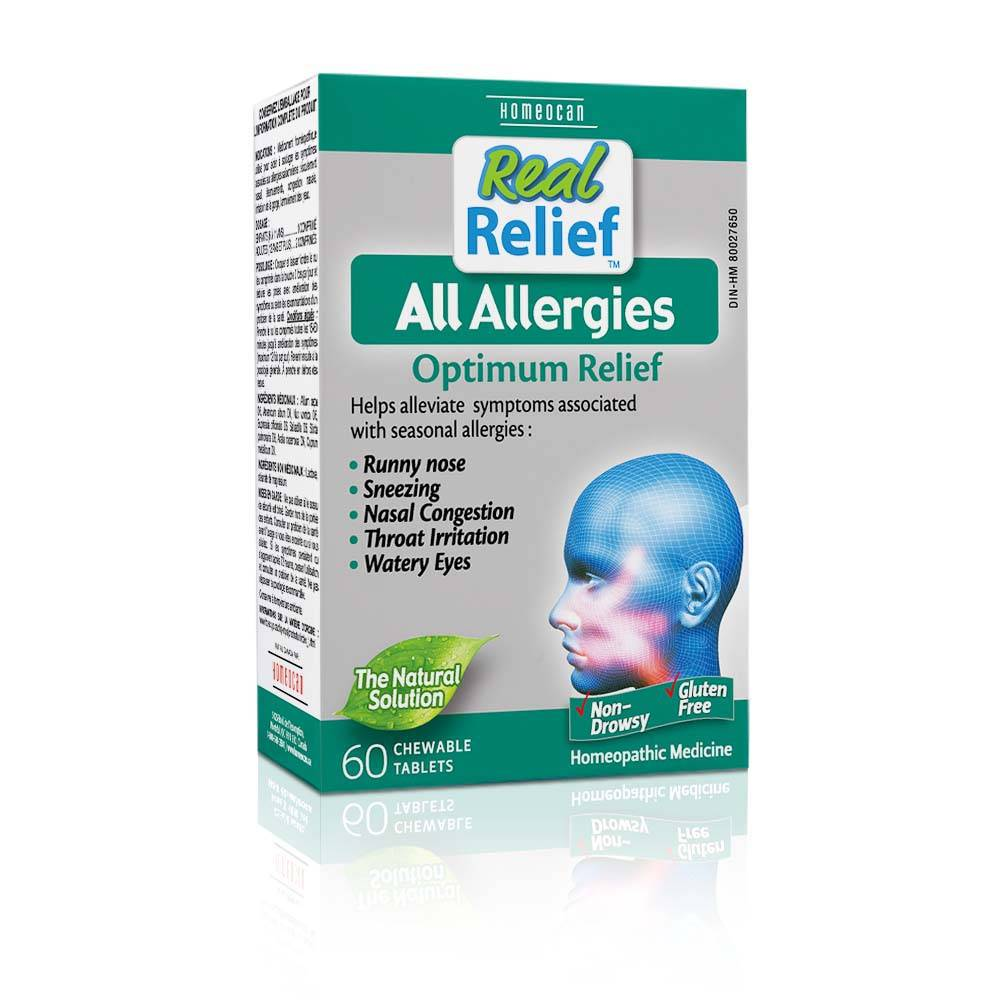 Real Relief Allergy tablets-60 tabs