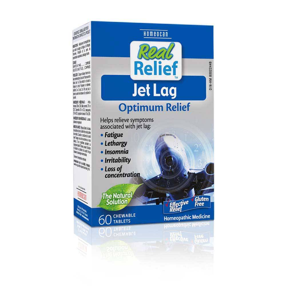 Real Relief Jet Lag Optimum Relief60 tabs