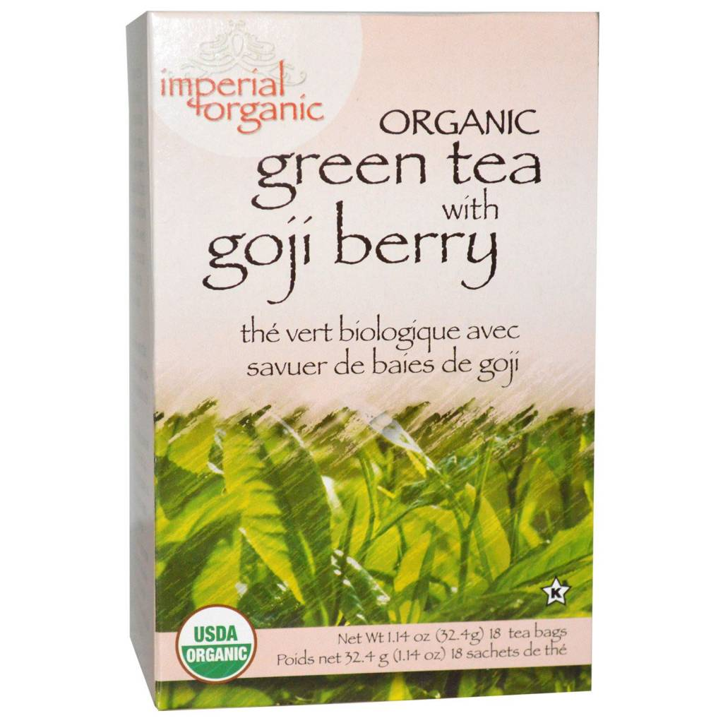Green Tea With Goji Berry