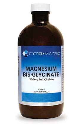Magnesium Biglycinate 300mg Full Chelate Unflavoured 450ml