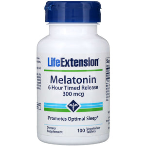 Melatonin 6 Hr Timed Release 300 mcg