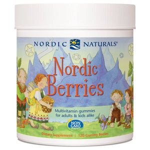 Nordic Berries Multivitamin Gummies for Adults and Kids 120