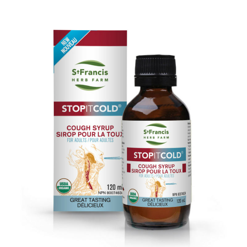STOPITCOLD Adult Cough Syrup 120 ml