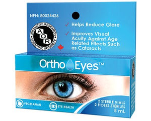 Ortho Eyes 2 Sterile Vials 5 ml***