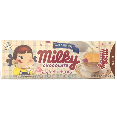 Buy Fujiya Milky Royal Milk Tea Chocolate Online | Made in Japan | Buy Japanese Snacks Online | Shipping Australia Wide | Kawaii Bites