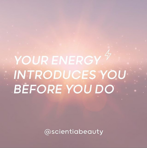 Your energy introduces you