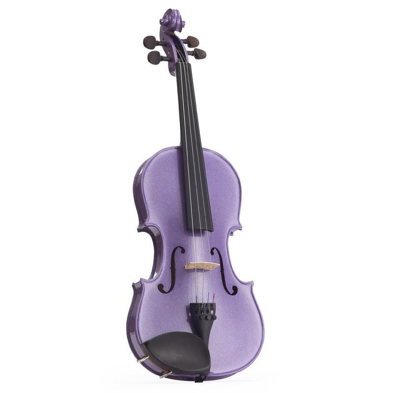 Harlequin Violin Outfit Light Purple 1/2 - Biggars Music