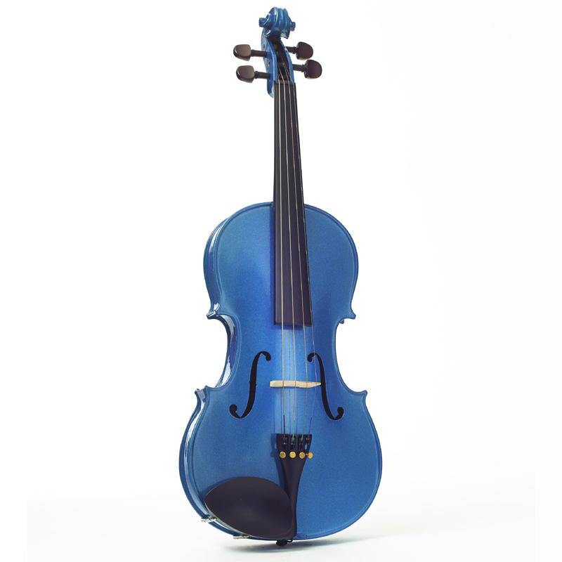 Harlequin Viola Outfit Blue 16 inch - Biggars Music
