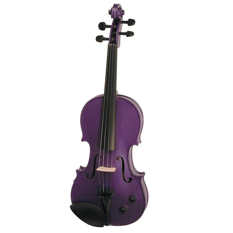Stentor Electric Violin Outfit 4/4 Purple - Biggars Music