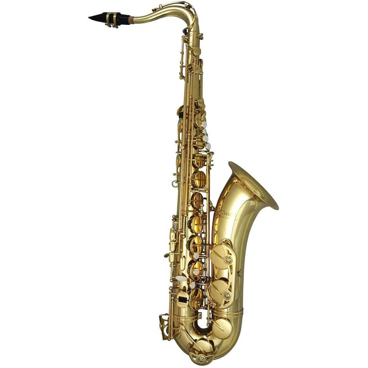 Trevor James Horn Classic II Tenor Sax Outfit - Gold Lacquer