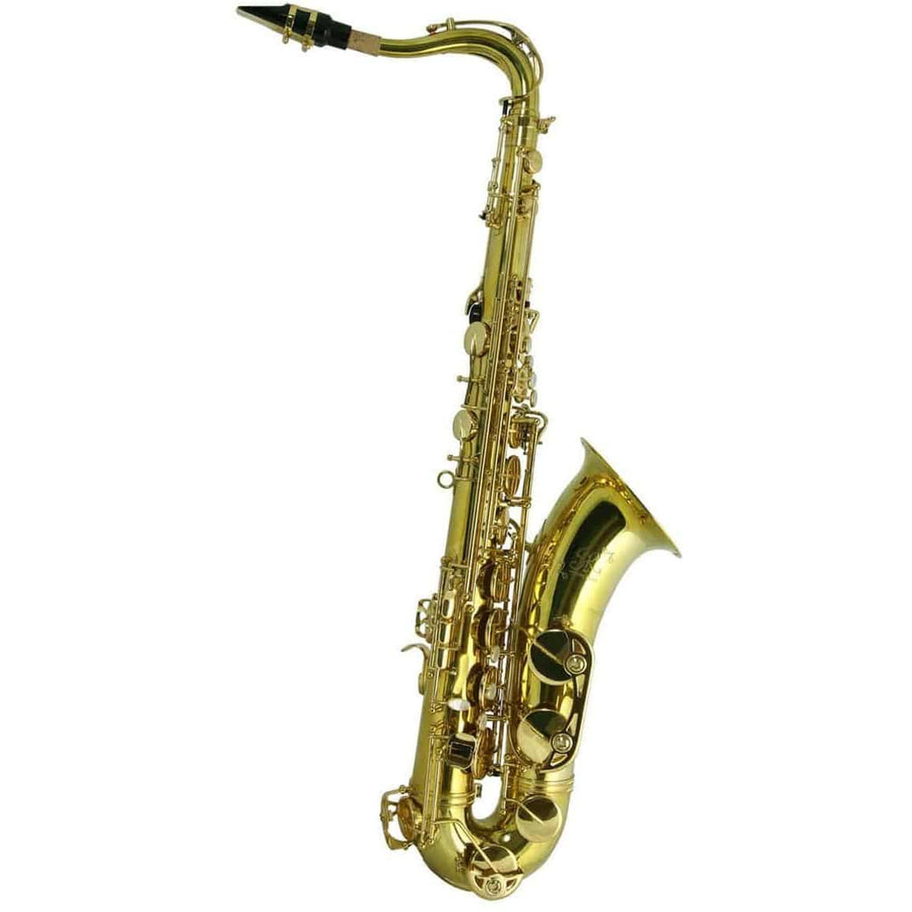 Trevor James SR Tenor Sax Outfit - Bronze. Gold Lacquer Keys
