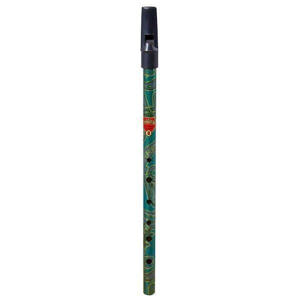 6590GR Boho Generation D Whistle Paisley Pattern Green