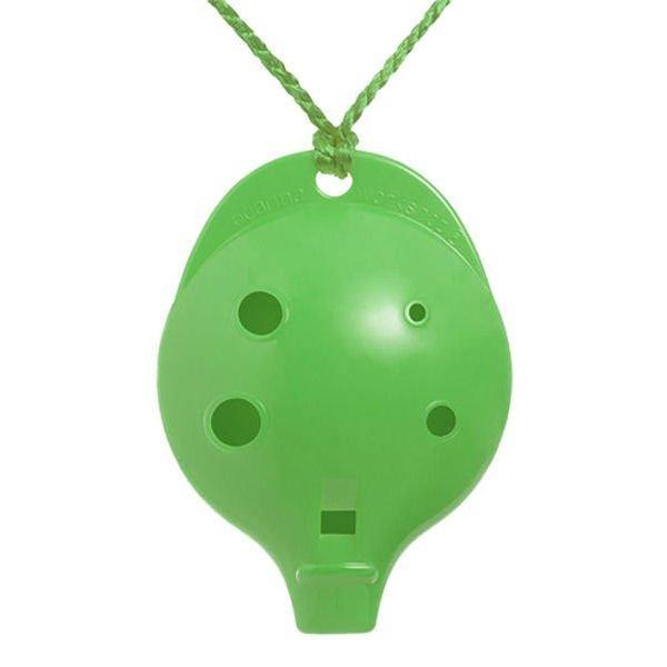 6CG Ocarina Alto Chromatic 6 Hole Green Colour 6CG