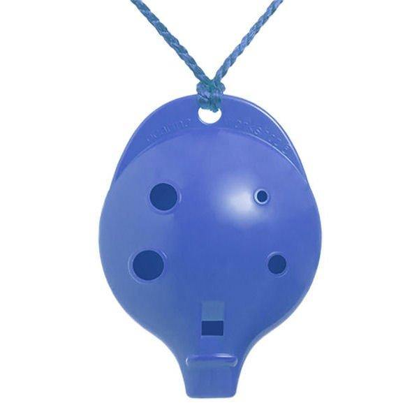 6CB Ocarina Alto Chromatic 6 Hole Blue Colour 6CB