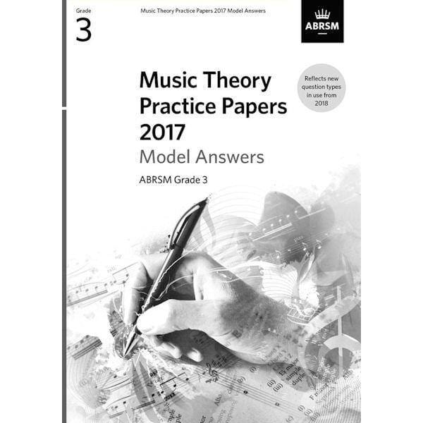 ABRSM Music Theory Past Papers 2017 Model Answers Grade 3