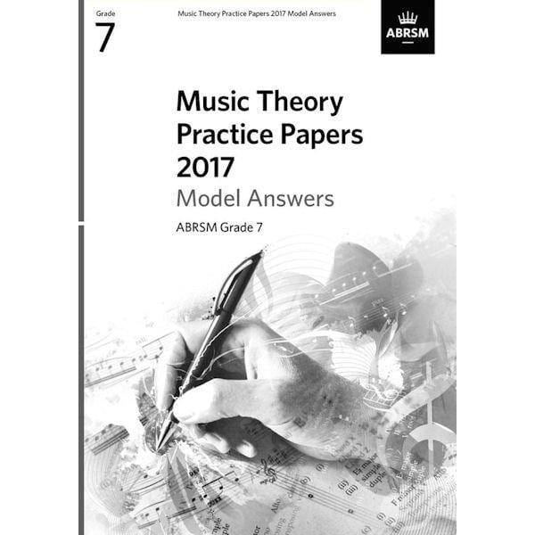 ABRSM Music Theory Past Papers 2017 Model Answers Grade 7