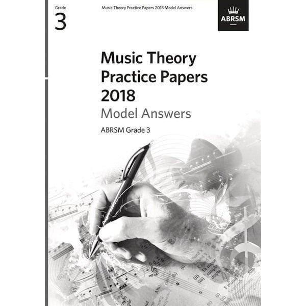ABRSM Music Theory Practice Paper 2018 Model Answers Grade 3