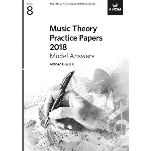 ABRSM Music Theory Practice Paper 2018 Model Answers Grade 8