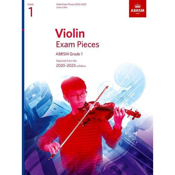 ABRSM Violin Pieces Grade 1 Score & Part 2020-2023