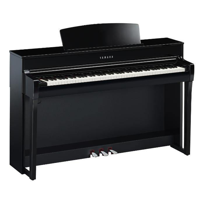 Yamaha CLP745PE Digital Piano, Polished Ebony - Biggars Music