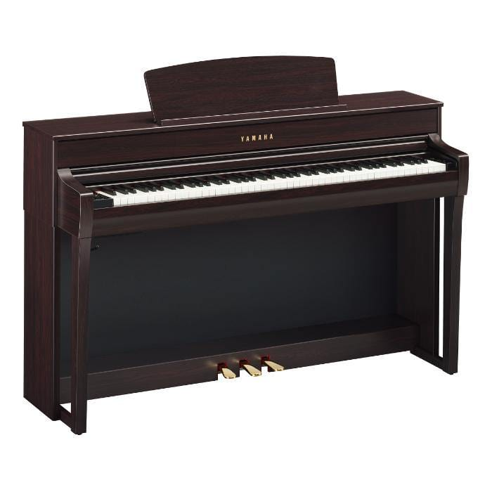 Yamaha CLP745R Digital Piano, Rosewood - Biggars Music