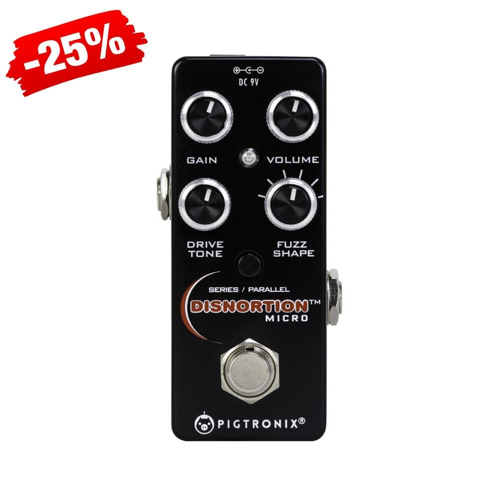 Pigtronix Disnortion Micro Effects Pedal