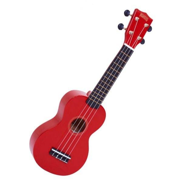 Mahalo Red Soprano Ukulele MR1RD