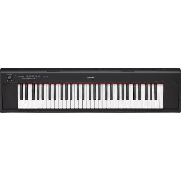 NP12 Black Yamaha NP Piaggero Series Portable Keyboard