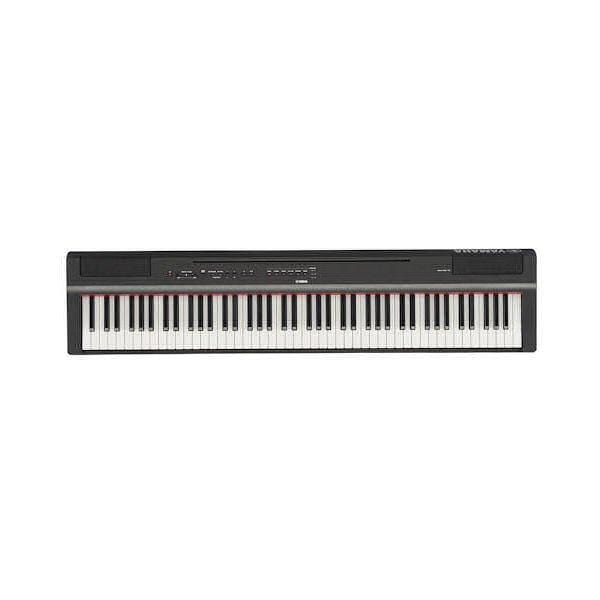 P125B Yamaha P Series Portable Digital Piano Black Finish