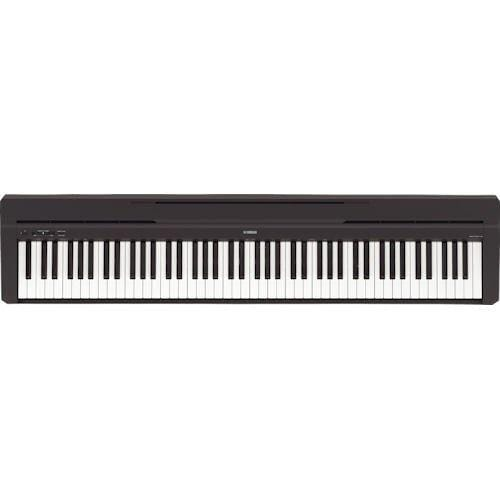 P45 Yamaha P Series Black P45B Portable Digital Piano