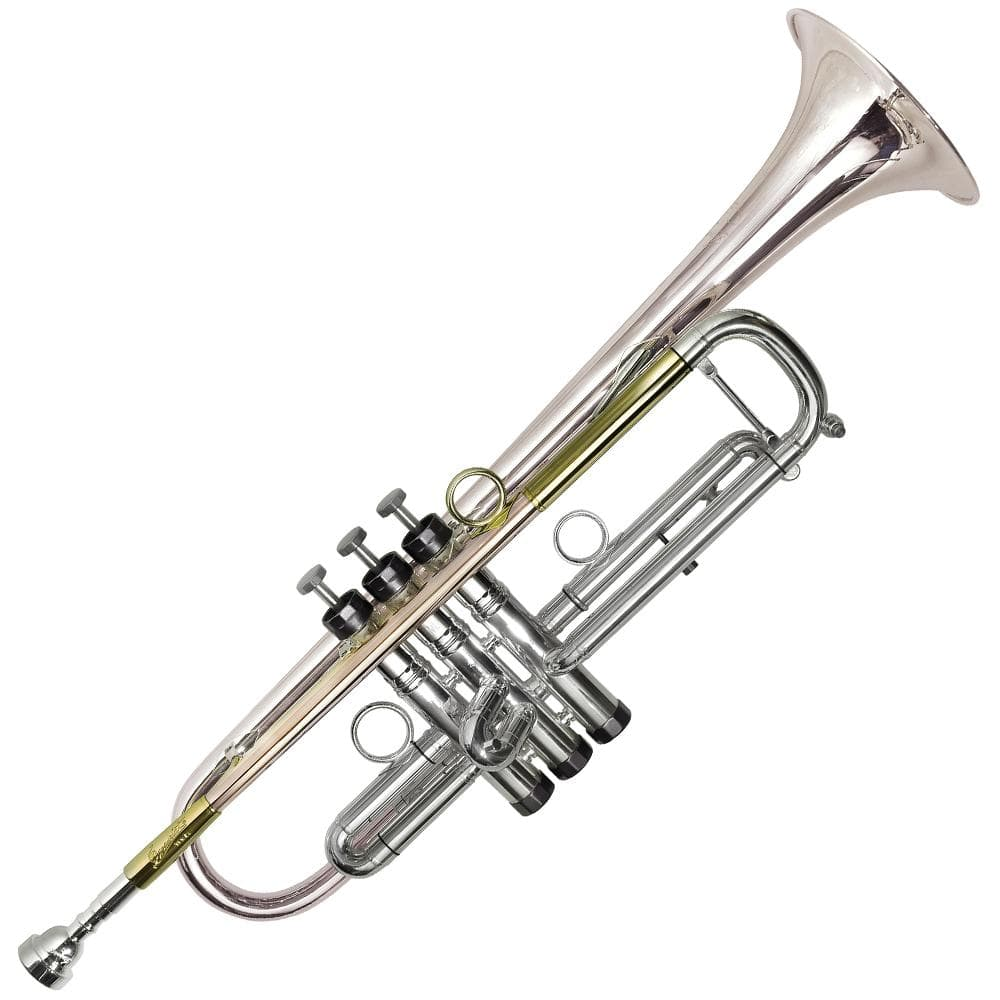 P Mauriat PMT75 Bb Trumpet - Titanium Lead Pipe & Bell - Silver