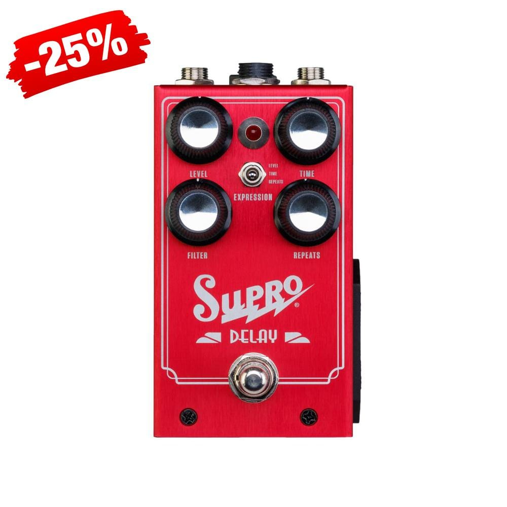 Supro Analog Delay Effect Pedal