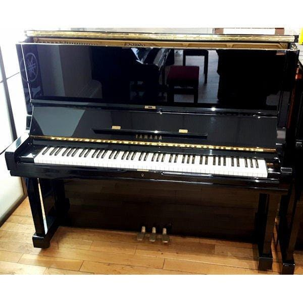 U3 Yamaha U3AS Pre-Owned Upright Piano Polished Ebony