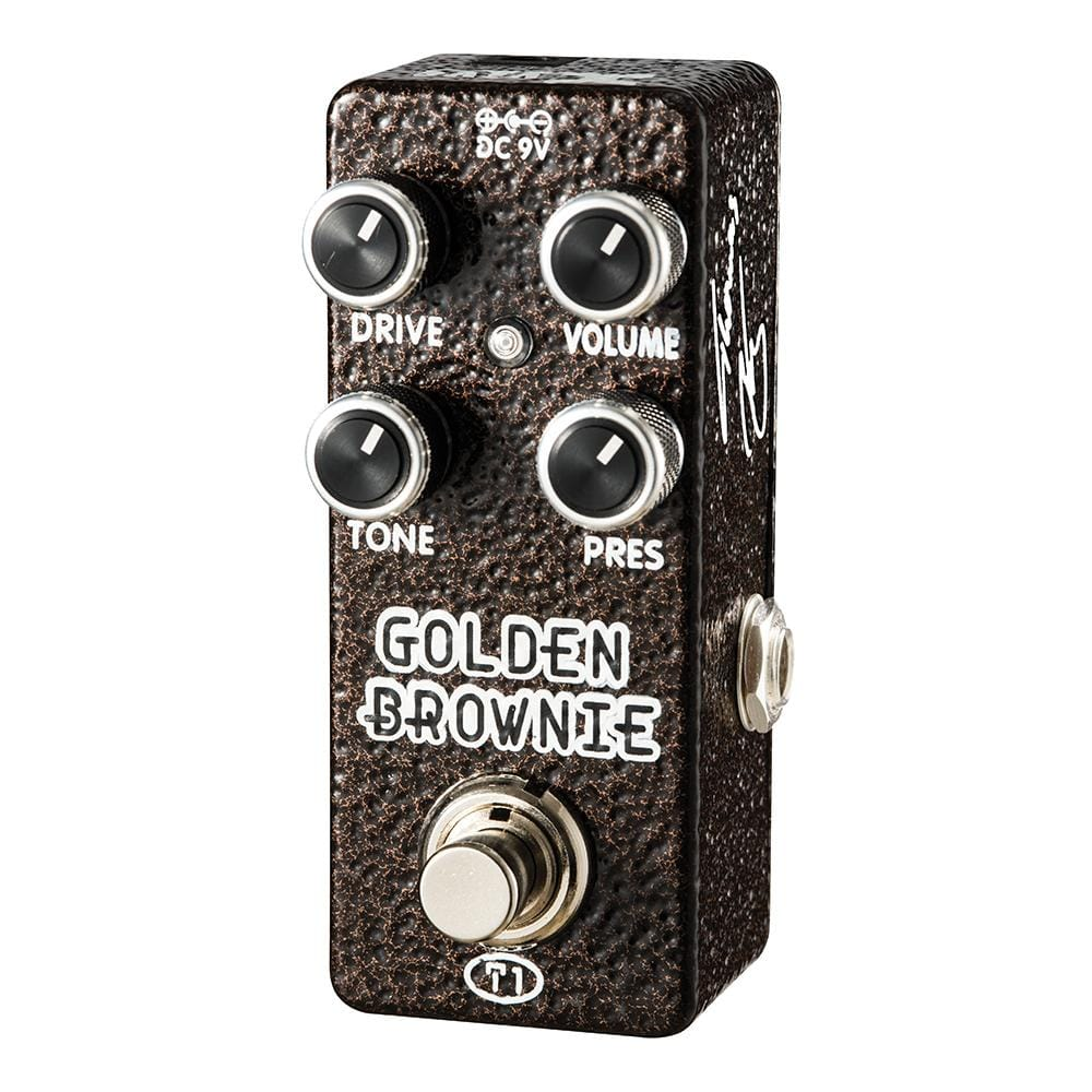 Xvive Golden Brownie Distortion Pedal by Thomas Blug