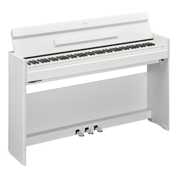 Yamaha YDPS54 Satin White Arius Slimline Digital Piano