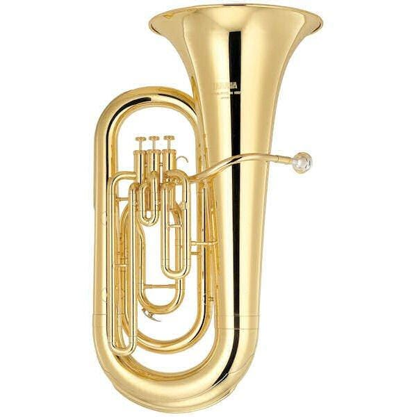Yamaha YEB201 3 Valve Eb Tuba Outfit Clear Lacquer Finish