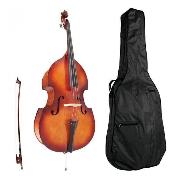 ADB0534 Antoni Debut 3/4 size Double Bass Outfit