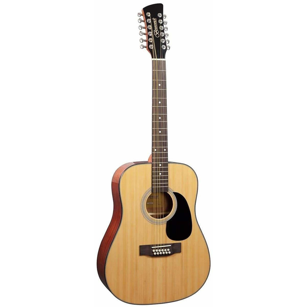 Brunswick Dreadnought 12 String Natural BD20012