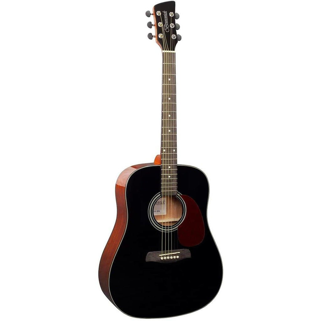 Brunswick Dreadnought Black Gloss BD200BK