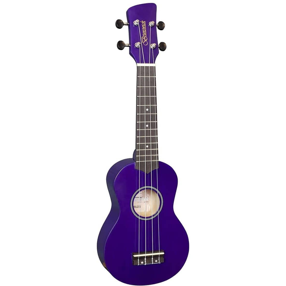Brunswick Ukulele Soprano Purple BU2SP