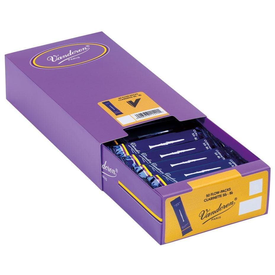 Vandoren Reeds Clarinet Bb 2 Traditional (50 BOX)